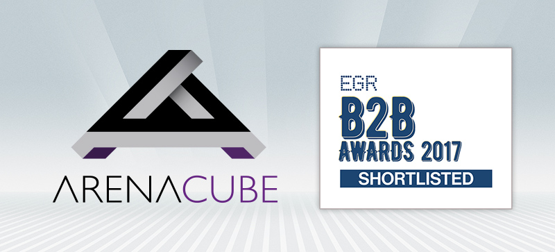 ArenaCube Shortlisted for 2017 EGR B2B Award